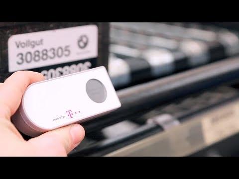 Social Media Post: Intralogistik mit Narrowband IoT: BMW Group nutzt den IoT Service...