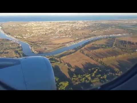 Alitalia AZ827 Landing in Rome Fiumicino