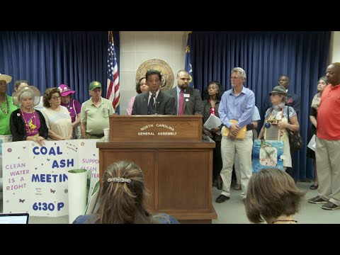 Alliance of Carolinians Together Against Coal Ash | Press Conference
