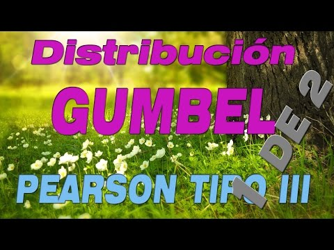 Distribucion De Probabilidades GUMBEL - Hidrologia