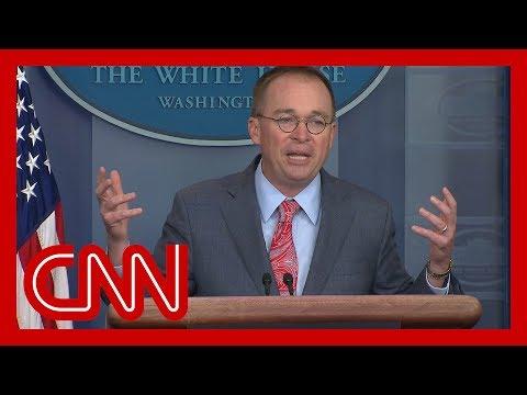 White House admits