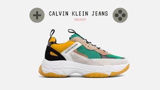 Кроссовки от Calvin klein jeans обзор, fashion sneaker бюджетная замена balenciaga triple s