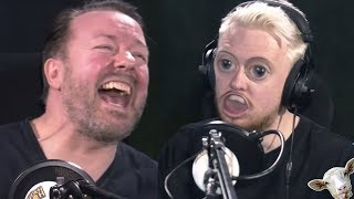 Ricky Gervais JaackMate But Its AWKWARD (Dark)