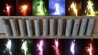 Big Veline stars color test Starmines / all 12 Veline colors [HD]