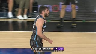 Jarrad Weeks with 19 Points  vs. Sydney Kings