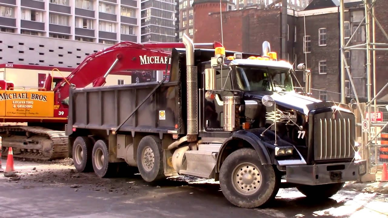 Kenworth Dump Trucks - YouTubeKenworth Dump Trucks