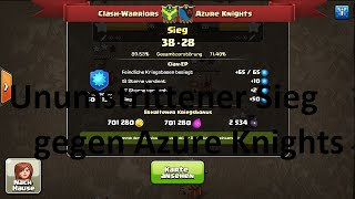 Clash of Clans CW : Clash-Warriors vs Azure Knights