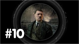 Sniper Elite V2 Gameplay Walkthrough - Part 10 - Tiegarten Flak Tower - (Xbox 360/PS3/PC) HD