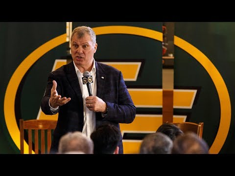 CFL Commissioner Randy Ambrosie Speaks About League's Bright Future