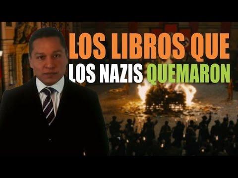 Los libros que los nazis quemaron