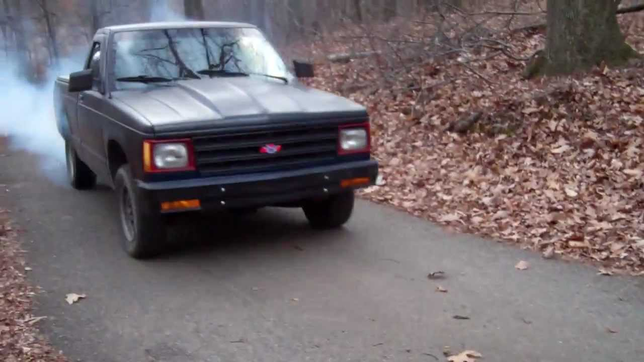 1989 Chevy S10 2 8l V6 5 Speed Burnout
