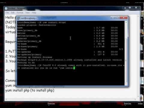 Install PHP & Apache On VPS | Linux | CentOS