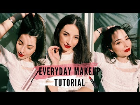 Everyday Makeup Tutorial // AIDOUBEN