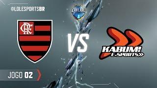 CBLoL 2018: Flamengo x KaBuM (Jogo 2) | Fase de Pontos - 2ª Etapa