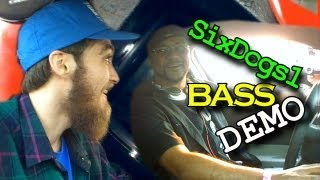 8 DC Audio lvl 3 15's on 7,500 Watts w/ SixDogs1 DIAMOND Subwoofer Wall | 7.5k BASS Car Install