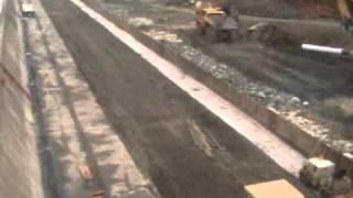 Capay Dam Apron Repair, California, USA