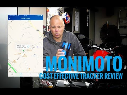Monimoto | Cost effective motorcycle tracker review
