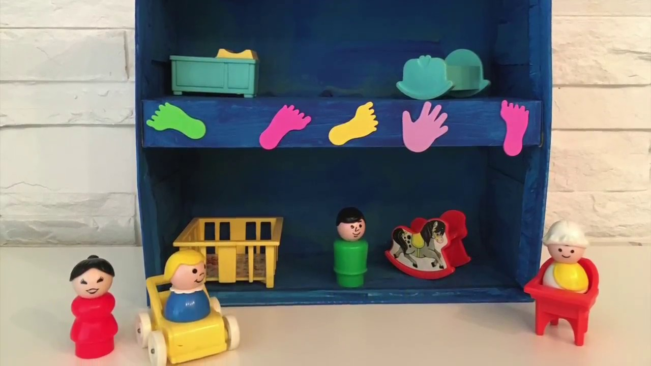 Puppenhaus aus schuhschachtel tutorial basteln mit - Puppenhaus basteln ...