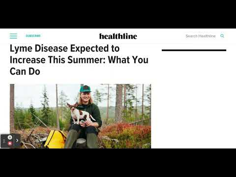CDC: Lyme Disease To Increase This Summer