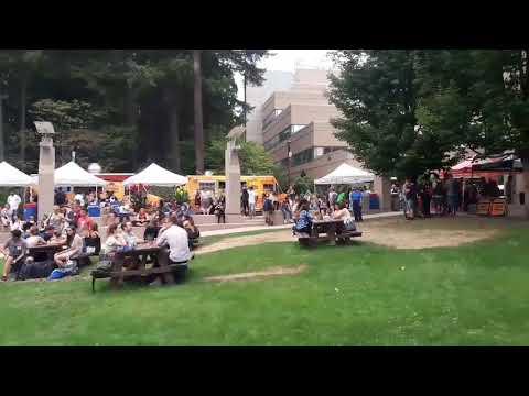 Street Party || Beautiful British Columbia || Capilano University