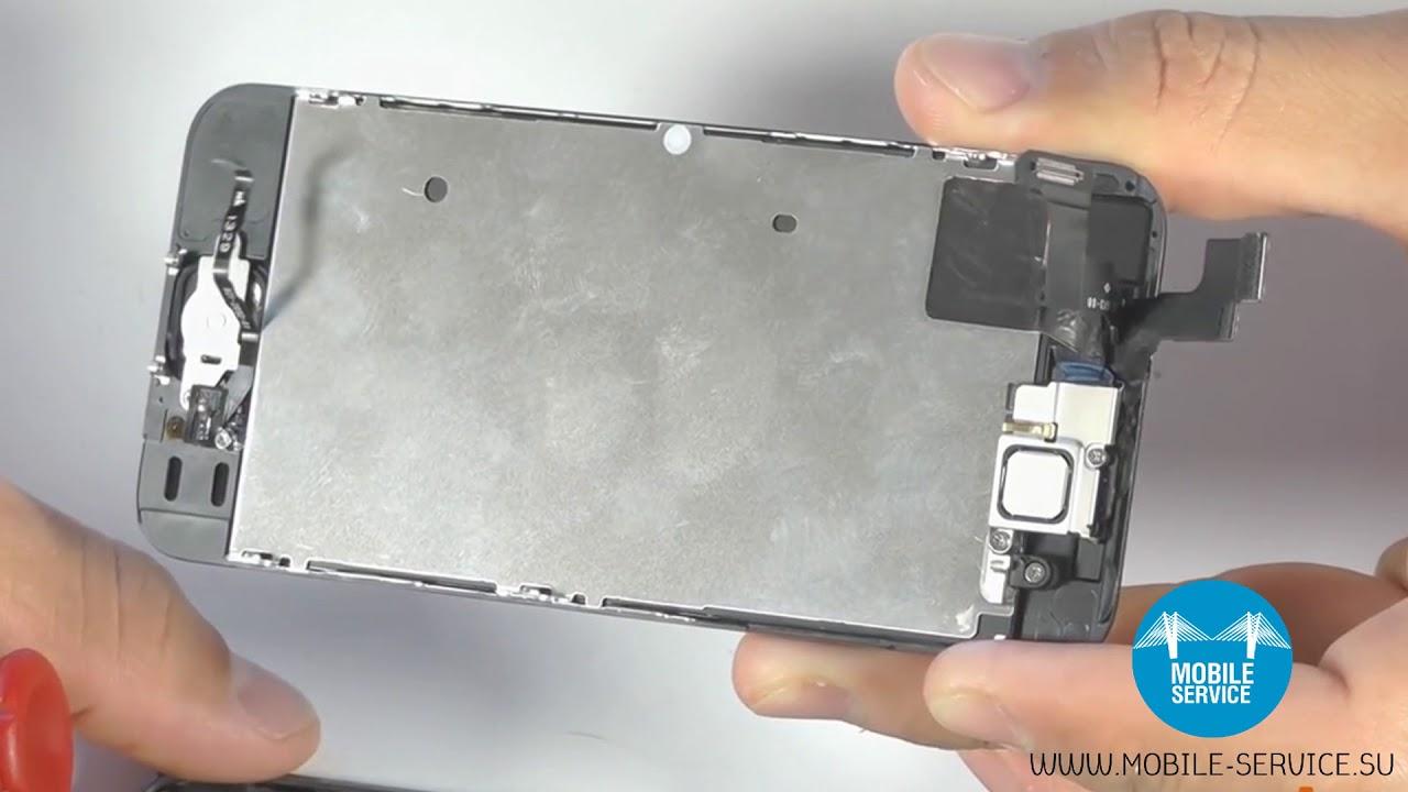 почистить фронтальную камеру iphone 5s