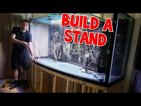 How To Build An Aquarium Stand: Bow Front Edition