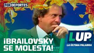 Daniel Brailovsky perdió el control