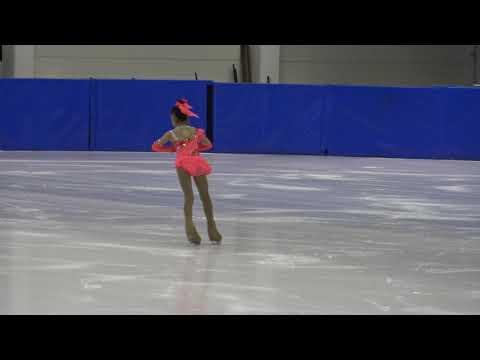 13th Santa Claus Cup 2019: Shahaf Picnhas(ISR) - Mini Chicks Girls ISU 6 Free Skating