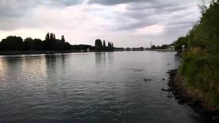 River Allier, Vichy, France