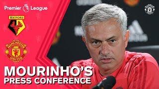 Jose Mourinho Press Conference | Watford v Manchester United
