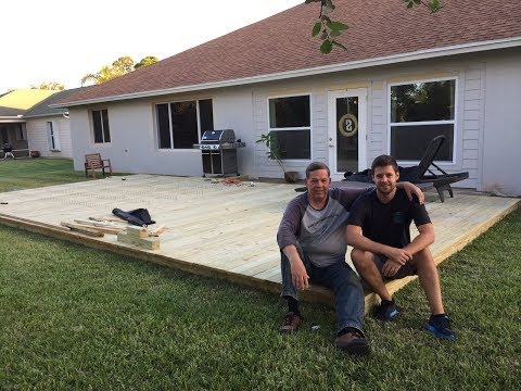 how-to-build-a-ground-level-deck-(father-&-son-project)