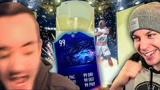 HE PACKS HIS FIRST NEW CHAMPIONS LEAGUE CARD!!! - FIFA 19 ULTIMATE TEAM PACK OPENING