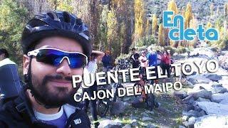 Viaje en cleta 1.0: Cajón del Maipo (Puente el Toyo)