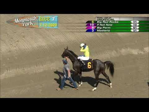 video thumbnail for MONMOUTH PARK 07-12-20 RACE 7