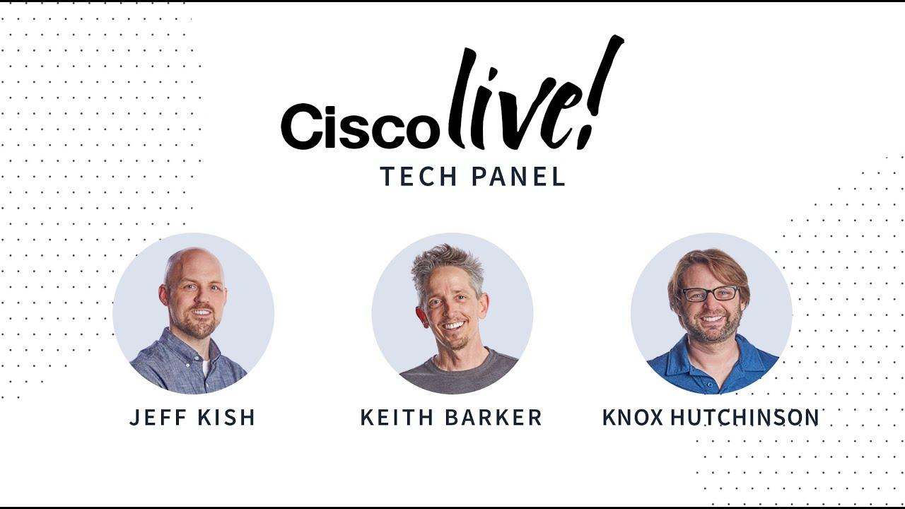 Cisco Live 2020 Tech Panel | CBT Nuggets