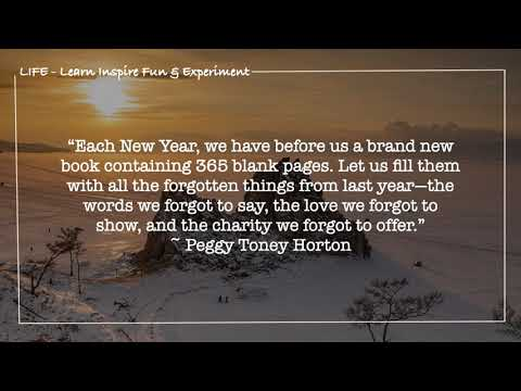 Two Quotes A Day! January 1 2021 - YouTube