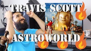 TRAVIS SCOTT quotASTROWORLDquot FIRST REACTION AND REVIEW 2018 beardedkingface