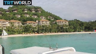 Philippines shuts 'cesspool' island to tourists | Money Talks