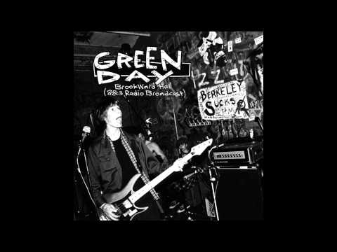 Green Day - 88 3 FM Radio Broadcast, Brookward Hall, Ohio, USA (1993)