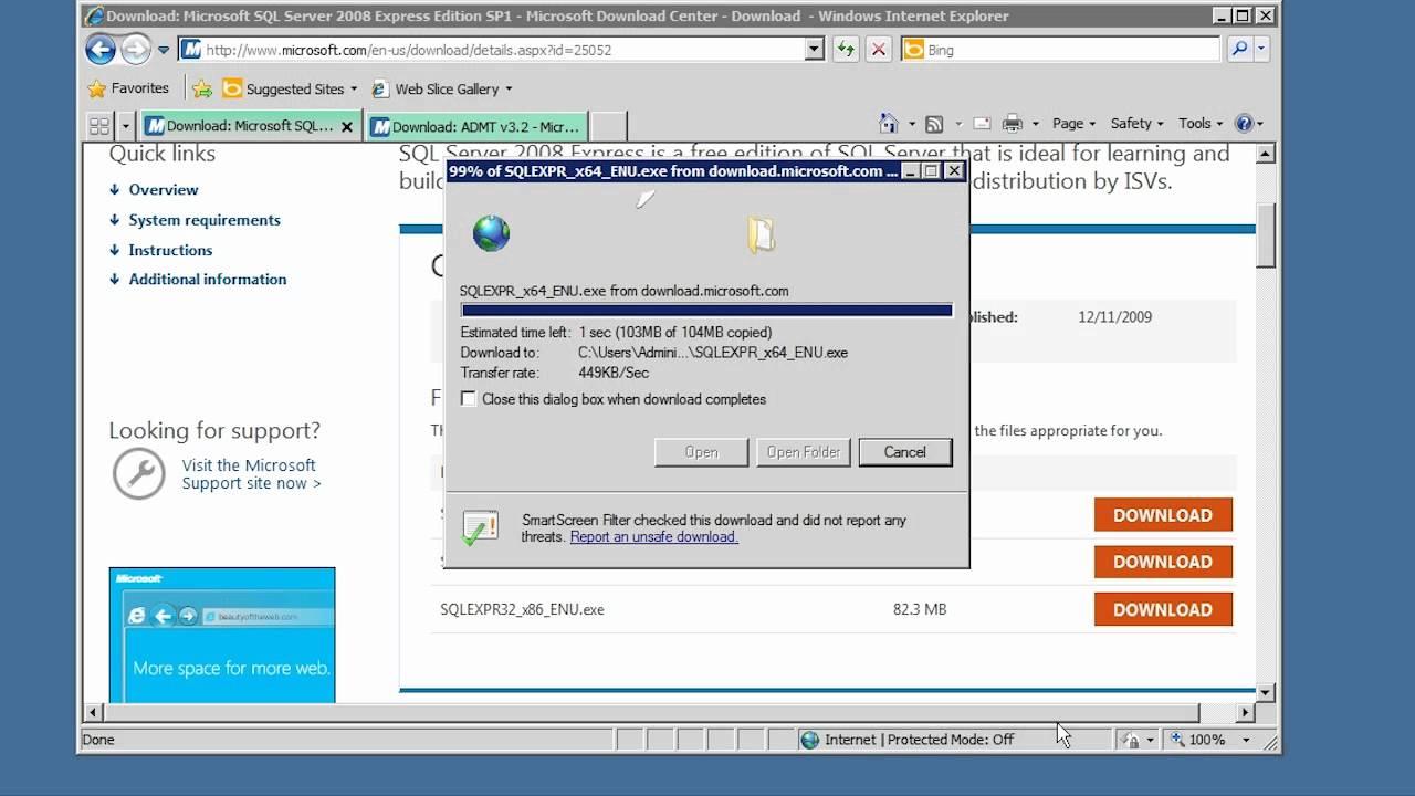 MCITP 70-640: Active Directory Migration Tool (ADMT)