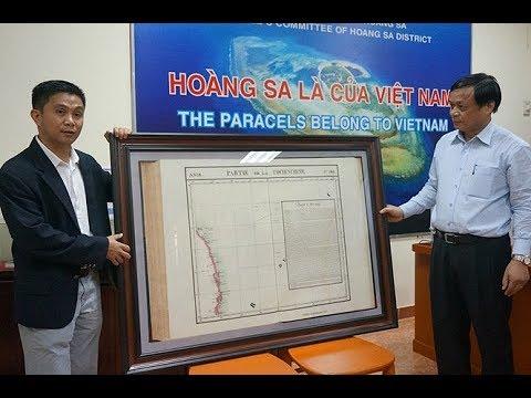 Tin Mới Nhất, Sét Nổ ngang tai TQ, Việt Nam công bố bằng chứng quan trọng về  Hoàng Sa Trường Sa