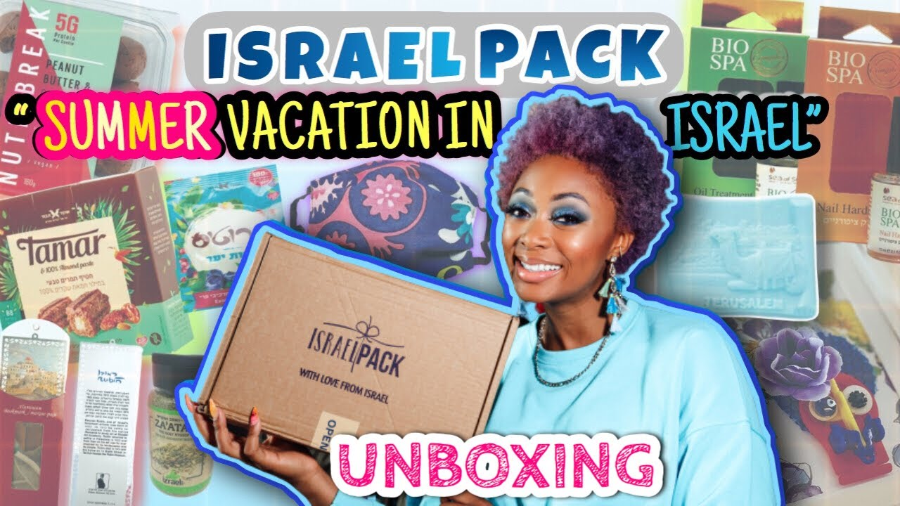 "Israel Pack ""Summer Vacation in Israel"" Unboxing"