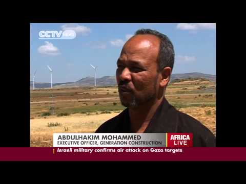 Africa's Largest Wind Farm Opens In Ethiopia