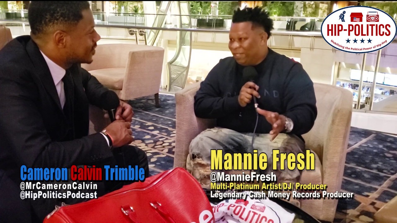 "Hip-Politics Podcast | Epi. 25 ""Gator Boots & Gucci Suits"" w/ Mannie Fresh"