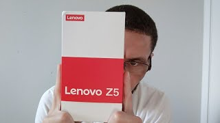 Lenovo Z5 Unboxing The Genius behind the deceit