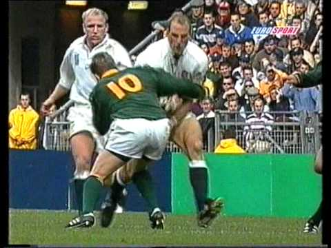 Rugby World Cup 1999 South Africa vs. England - Quarter final (Jannie de Beer)