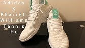ba10873e883aa Adidas Pharrell Williams Tennis Hu J Mint - sklep 7store - YouTube