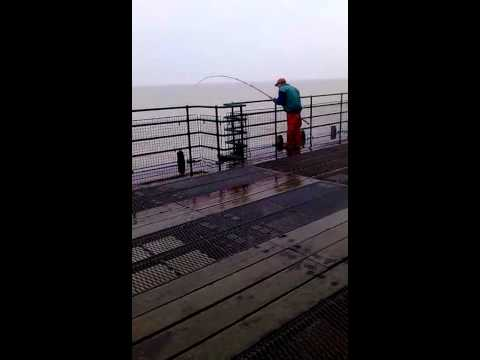 Sea Fishing On Deal Pier.