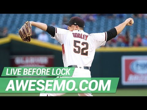 MLB DFS Live Before Lock - Sat 6/22 - DraftKings FanDuel Yahoo - Awesemo.com