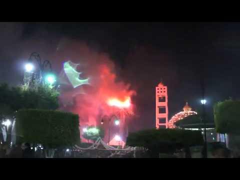 1ero. de Enero, Pirotecnia de año nuevo Fiestas de Vista Hermosa, Mich.